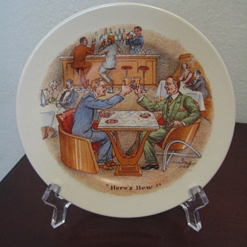AMBASSADOR WARE - ENGLAND  PART 1 /DATES 1933 - China and Dinnerware