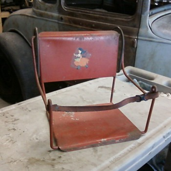 Early 1900&#039;s Child&#039;s Car Seat