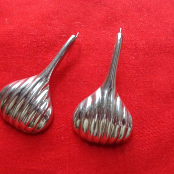 Mexican Silver Earrings - Fine Jewelry
