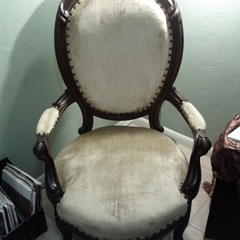 Victorian Gentleman's Chair of Yet-Undetermined Style/Revival Period - Victorian Era