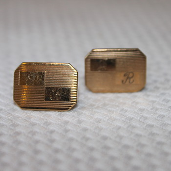 Gold Cufflinks SURPRISE - Fine Jewelry