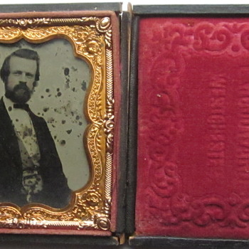 Ambrotype of Well Dressed Man - Photographs