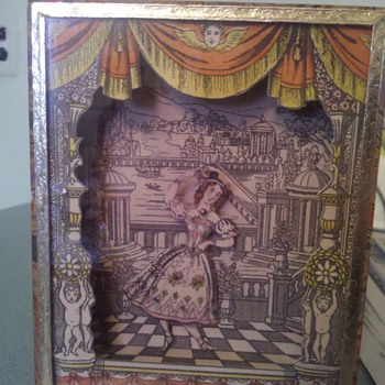 Vintage Repro Harlequin Magic Box Very OLD? - Games
