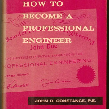 "1966 - ""How to Become a Professional Engineer"""
