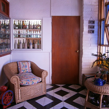 Antique bottles and decoration