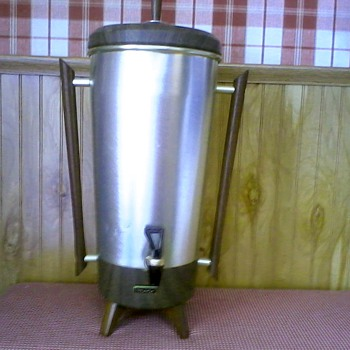 "Mid-Century ""Tricolator"" Coffee Percolator Urn Model TRW 42 / Circa Late 50's to 70's"