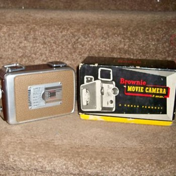 kodak brownie movie cammera 8mm.