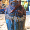 Wooden carved woman