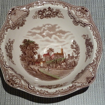Johnson Bros Plate/Bowl - China and Dinnerware
