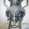 LUCIUS HART SILVERPLATE ELK KETTLE?