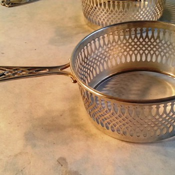 What is this?  Is it a silver Hot Beverage Holder? - Sterling Silver