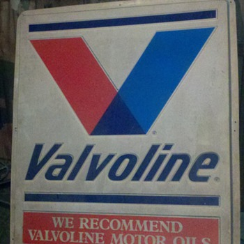 Vintage Valvoline Sign - Signs