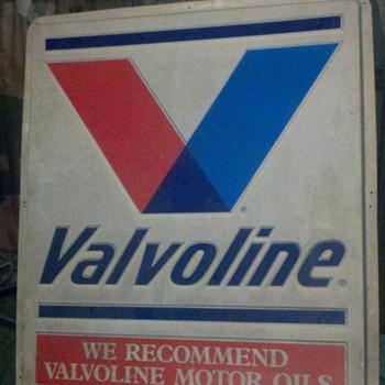 Vintage Valvoline Sign