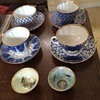 Fine Russian Porcelain Cups And Saucers