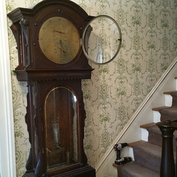 "Grandfather clock ""the condliff"" - Clocks"