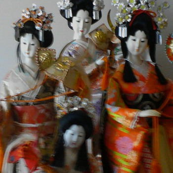 Yaeki Hime group shot - Dolls