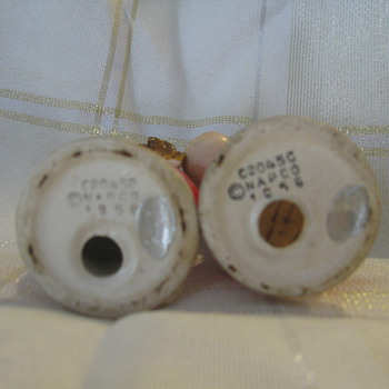 Christmas Salt and Pepper Shakers 1956