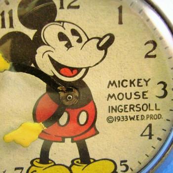 Al Horen Mickey Mouse Pocket Watch - Pocket Watches