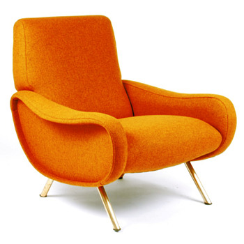 LADY chair and sofa, Marco Zanusso (Arflex, 1951)