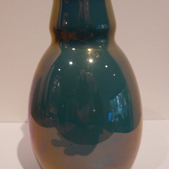 My St Lukas Lustre Vase - Art Pottery