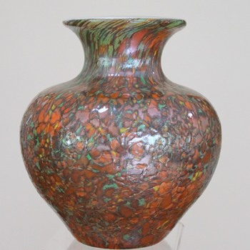Kamei spatter vase - Art Glass