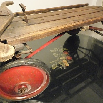 Mystery Antique Wheeled Sled