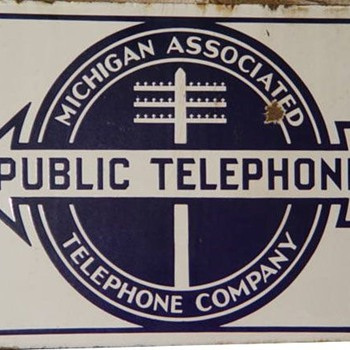 Michigan Associated Public Telephone - Signs
