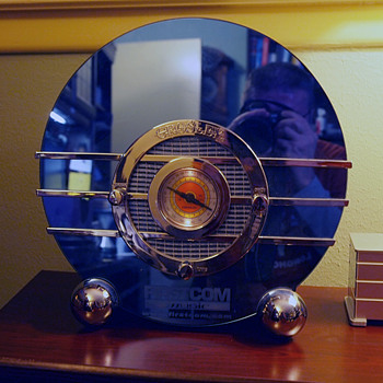"Art Deco Radio, Crosley ""Bluebird"", 1936 (Reproduction) - Art Deco"