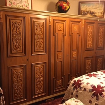 Antique Armoire - Furniture