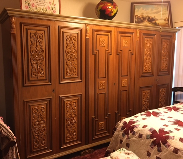 antique armoire collectors weekly. Black Bedroom Furniture Sets. Home Design Ideas