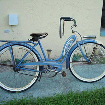 My 1950 Schwinn restoration bike before. - Outdoor Sports