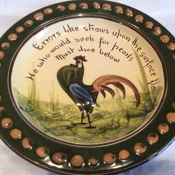 Stunning art bowl  - Art Pottery