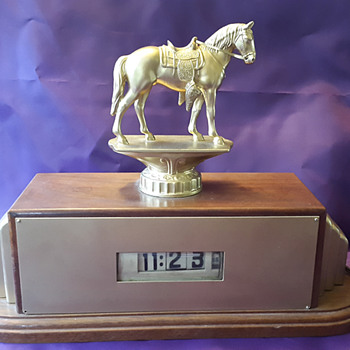 Trophy Crafters Clock with Lawson Movement  - Art Deco