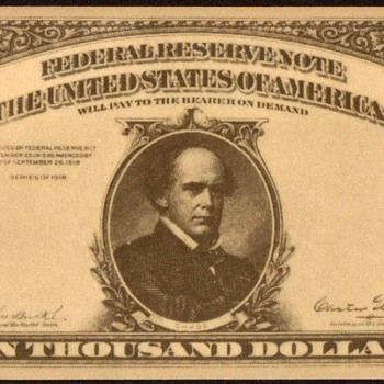 $10,000 - Novelty Bank Note - US Paper Money