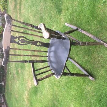 Unknown rocking chair, help please  - Furniture