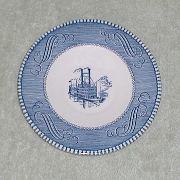 Blue &amp; White plate