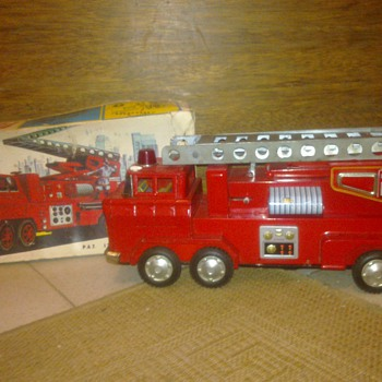 Yonezawa No. 649 Grand Lift Fire-Engine - Toys