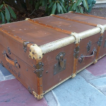 Turn-of-the-Century Ernst Lange Steamer Trunk