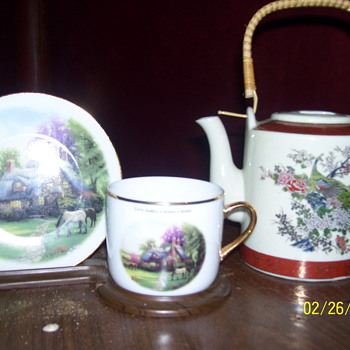 sathuma japan /tea sever/tom kINKADE - China and Dinnerware