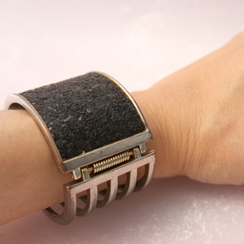 Cuff (literally!) bracelet - Costume Jewelry