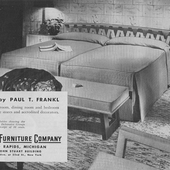 1950 Johnson Furniture Advertisement