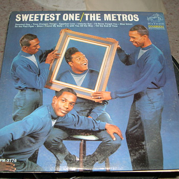 "THE METROS SWEETEST THING ON RCA VICTOR RECORDS ""SOUL"" - Records"