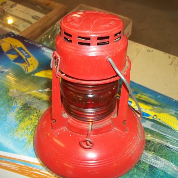 VINTAGE RAILROAD LAMP - Railroadiana