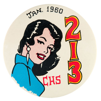 More Philadelphia High School Graduation Pinbacks - Medals Pins and Badges