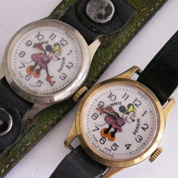 Kerry, These are my other 2 Minnies - Wristwatches