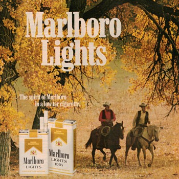 1979 - Marlboro Lights Advertisement - Advertising