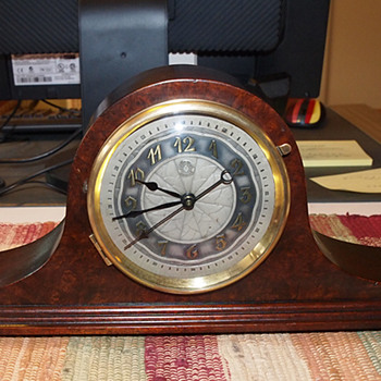 1929 Herman Miller Tambour Clock, Model 4010 - Art Deco
