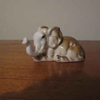 Bone china elephant