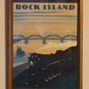 Rock Island RR Art-Deco Print….