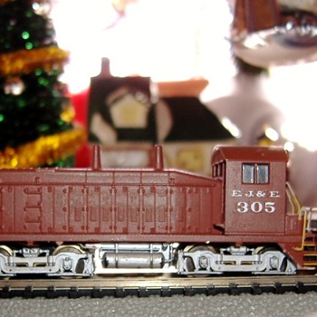 EJ&amp;E #305 SW9/1200 N scale - Model Trains
